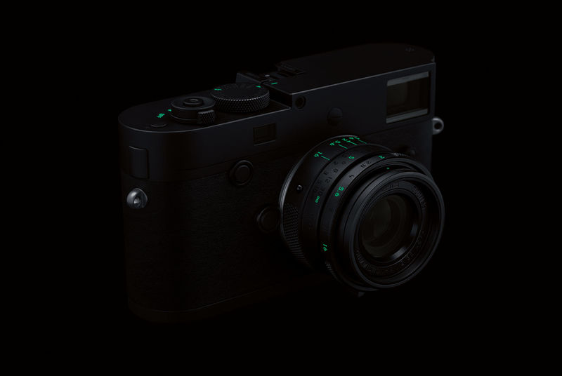 All-Black Rangefinder Cameras
