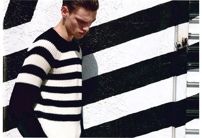 Layered Stripe Editorials