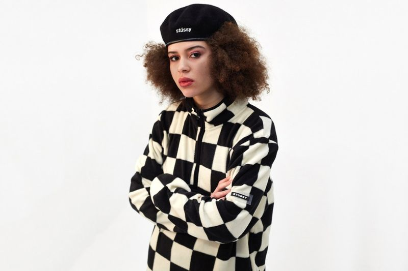 Checkerboard Fleece Sweaters