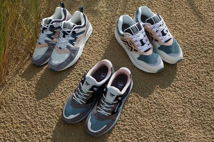 Pastel Tonal Comfort-Centric Shoes