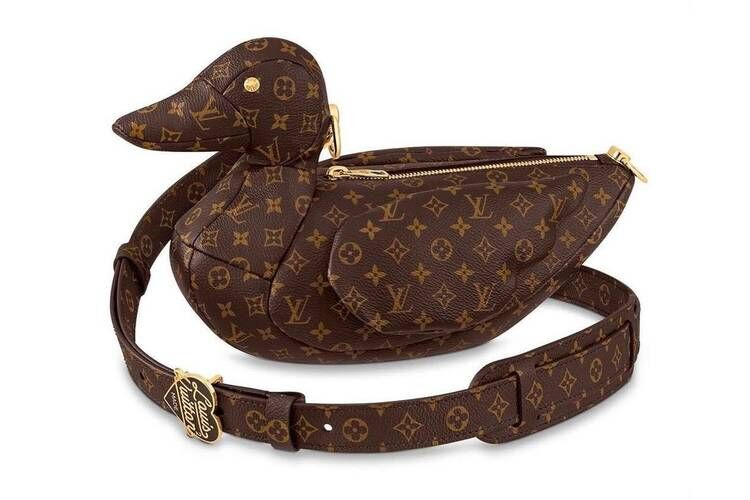 Duck-Shaped Luxe Monogram Bags