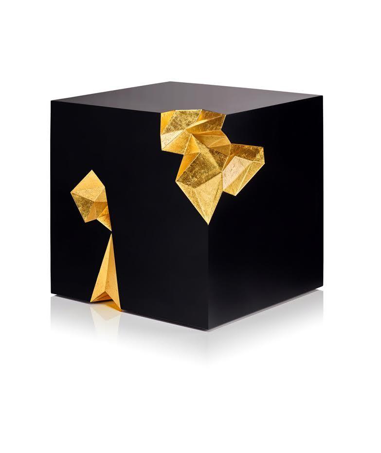 Sculptural Cubic Tables