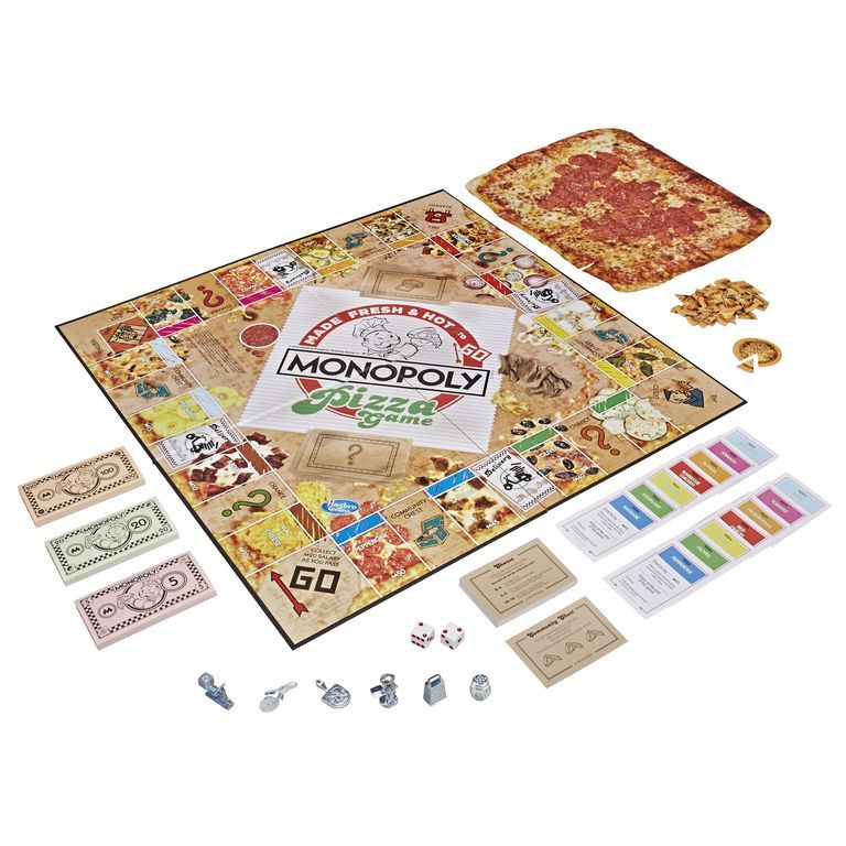 Pizza-Themed Board Games