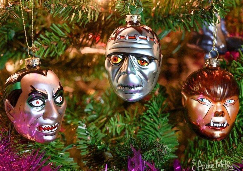 Movie Monster Christmas Decorations
