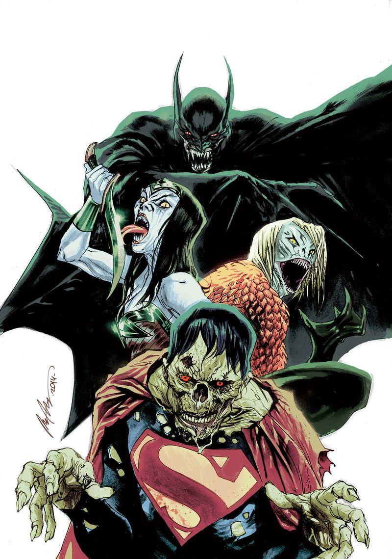 Superhero Monster Comics
