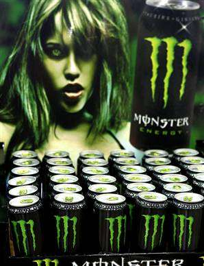 Monster versus Red Bull