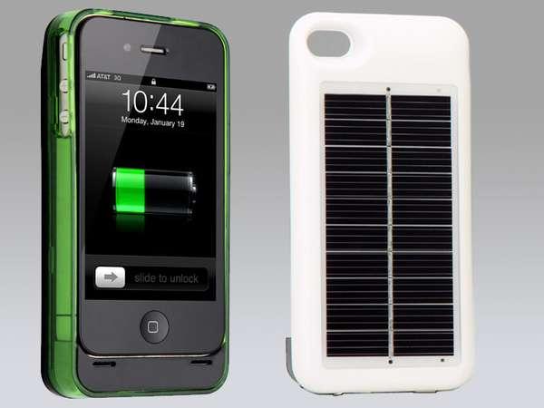 Solar Charging Cases Monster Watts Hybrid Solar Case