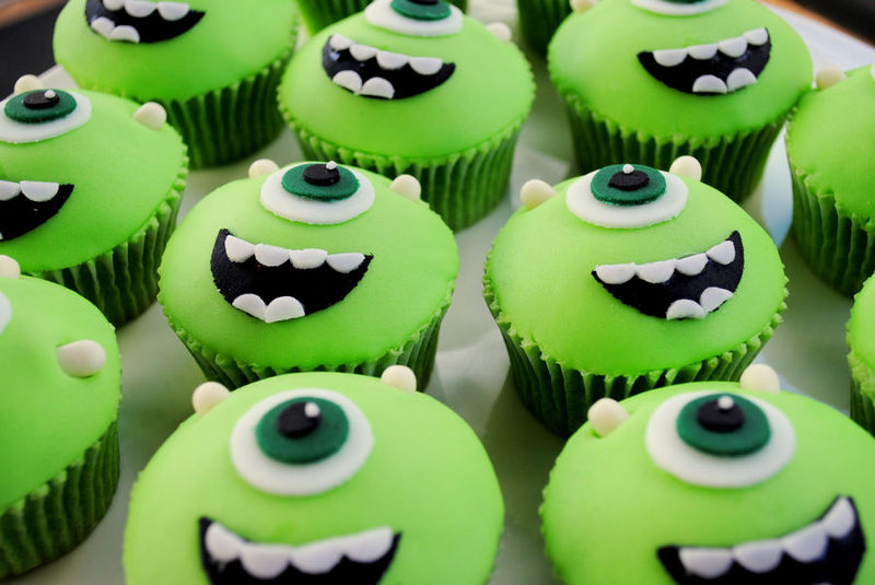Cinematic Monster Cupcakes Monsters Inc Cake