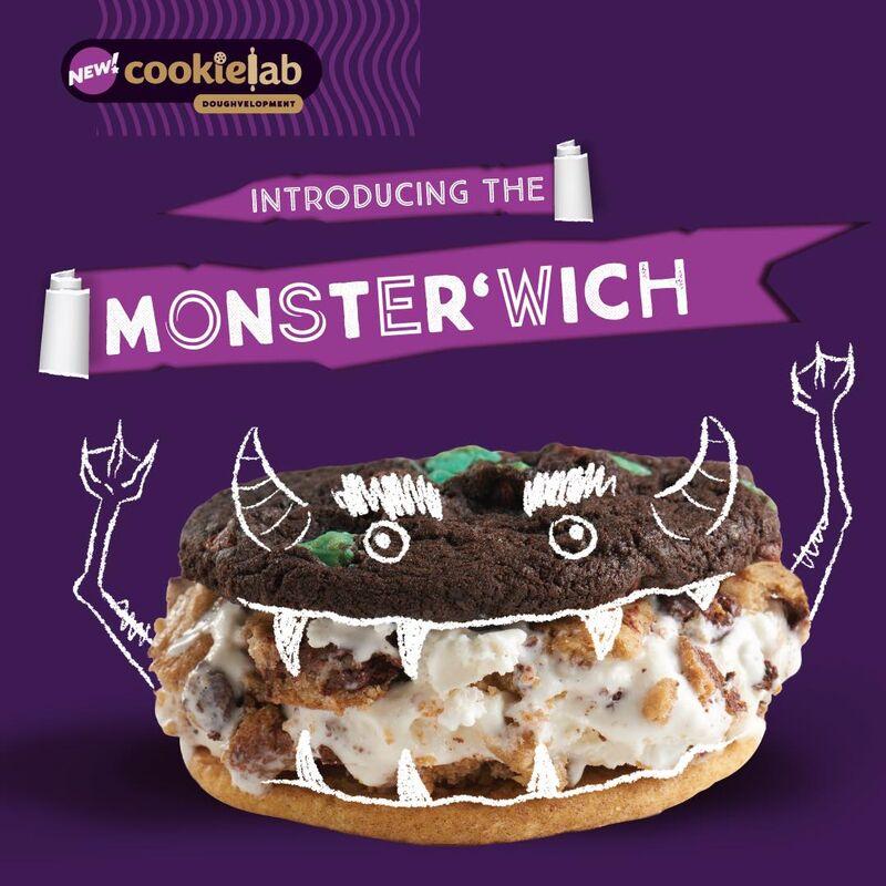 Multi-cookie Ice Cream Sandwiches