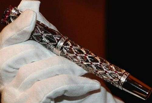 $300,000 Tribute Pen