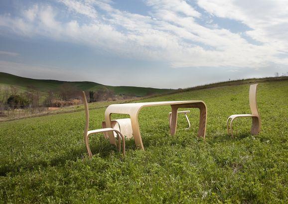 Naturalistic School Furniture