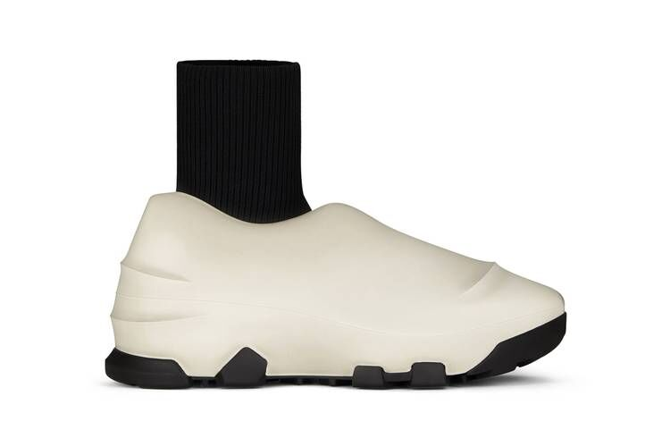 Sleek Luxury Rubber Sneakers