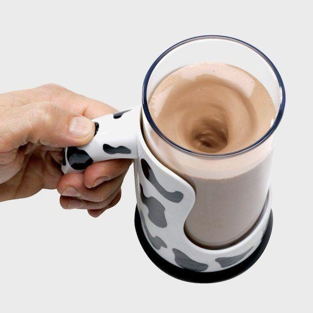 Self-Mixing Mugs