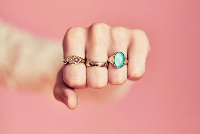 High-End Mood Rings