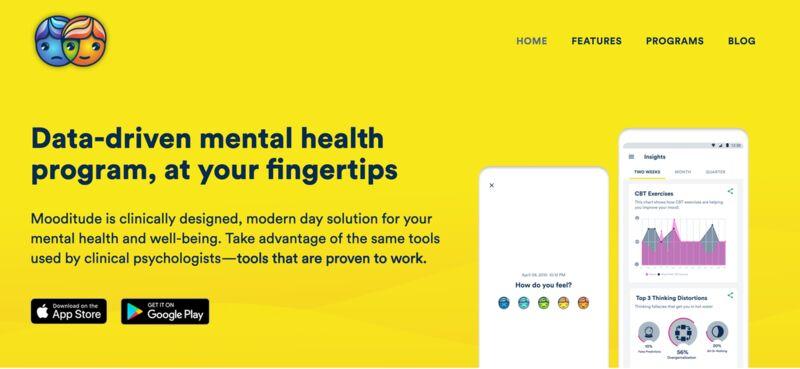 Data-Driven Mental Health Apps