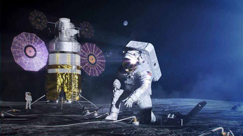 Moon Mission Spacesuit Designs