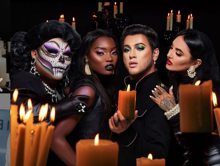 Witchy Halloween Makeup Collections