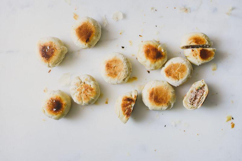 Homemade Savory Mooncakes