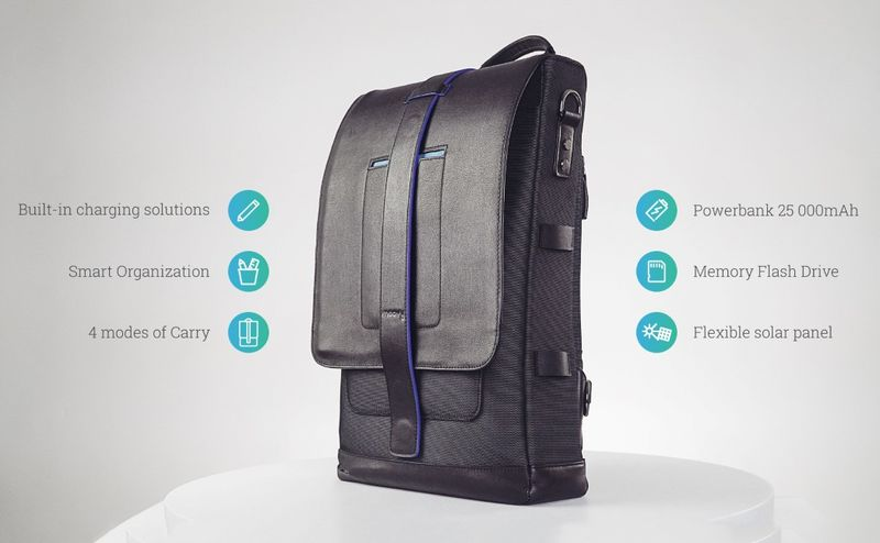 Intelligent Organizational Backpacks
