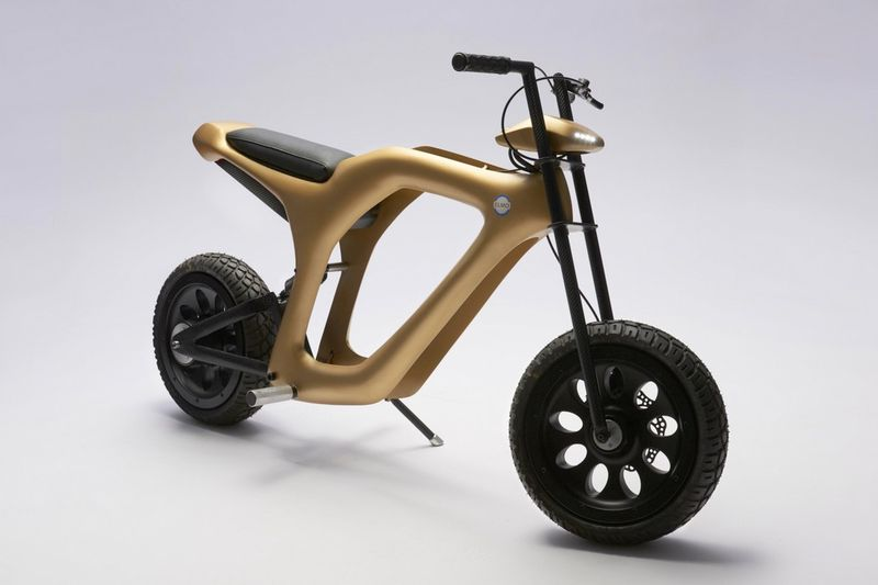 Gilded Electric Mopeds