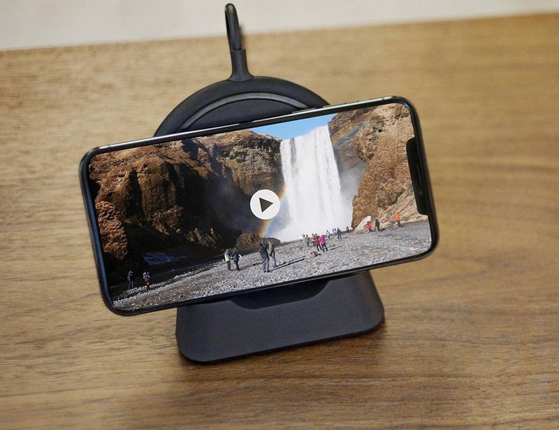 Streaming-Friendly Wireless Chargers