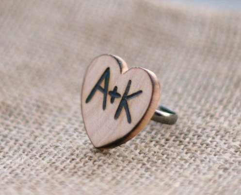 Rustic Romantic Rings