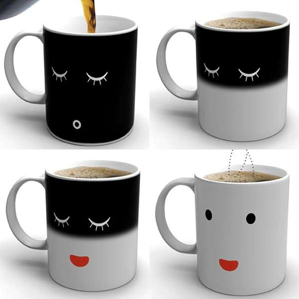 HeatActivated Mugs morning coffee