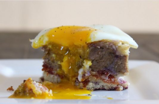 Savory Breakfast Cakes