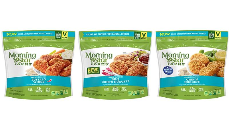 Meat-Free Frozen Pub Foods