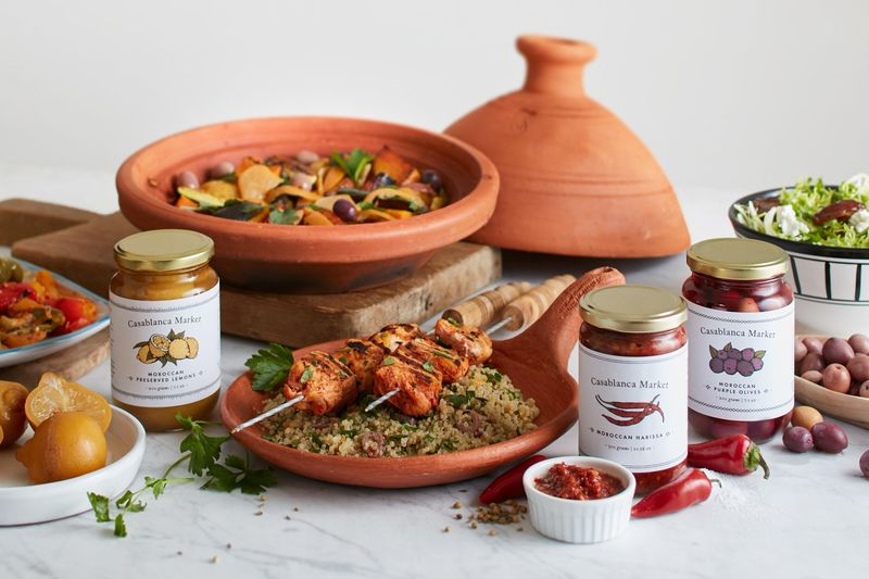 Traditionally Inspired Moroccan Condiments