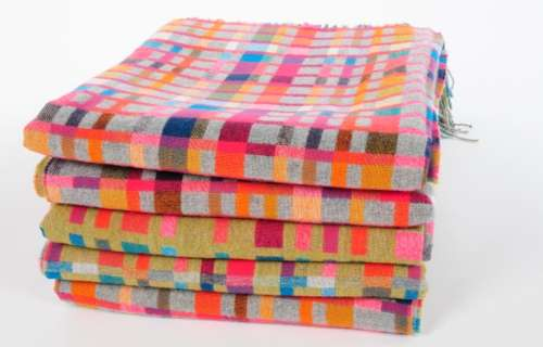 Punchy Plaid Bedspreads