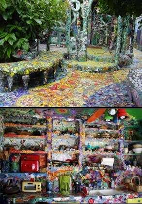 DIY Tiled Art Homes