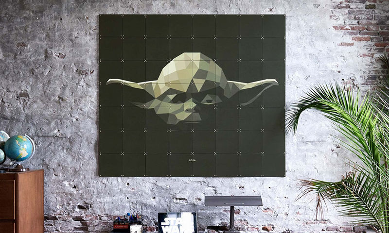 Pixelated Galactic Posters