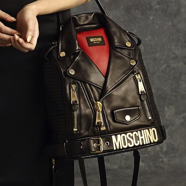 Moto Jacket-Inspired Handbags