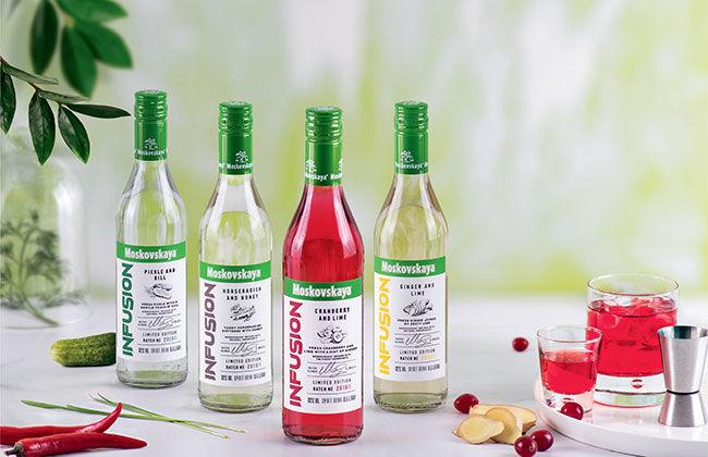 Herbaceous Vodka Flavors