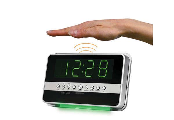 Motion Sensitive Alarm Clocks