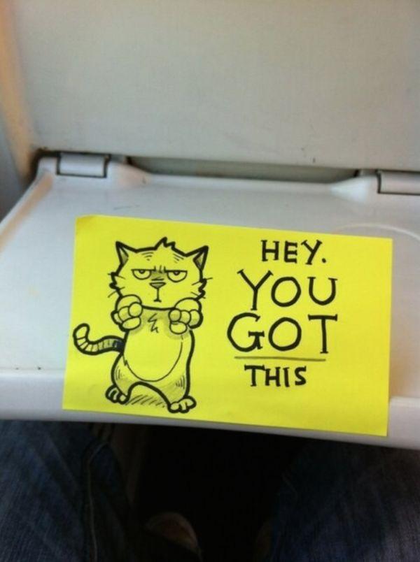 Motivational Cartoon Notes