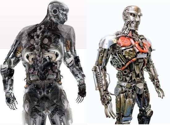 Recycled Robot Sculptures
