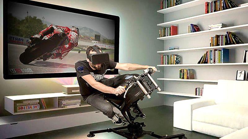 VR Motorcycle Simulators