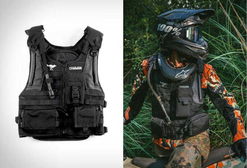 Storage-Packed Motorcycle Vests