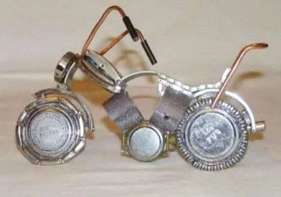 Toy Bike Timepieces