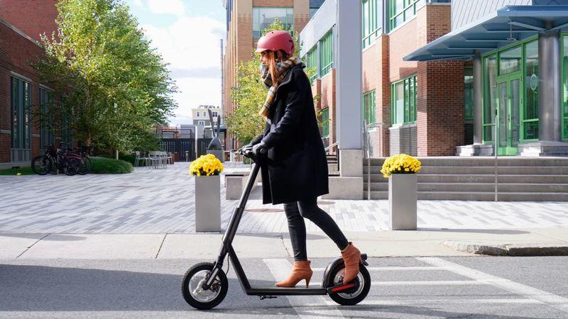 Shareable AI E-Scooters