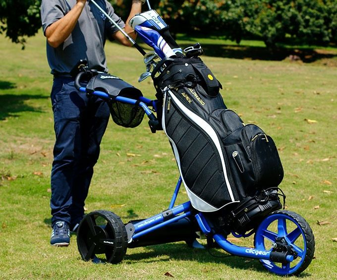 Remote-Controlled Golf Caddies
