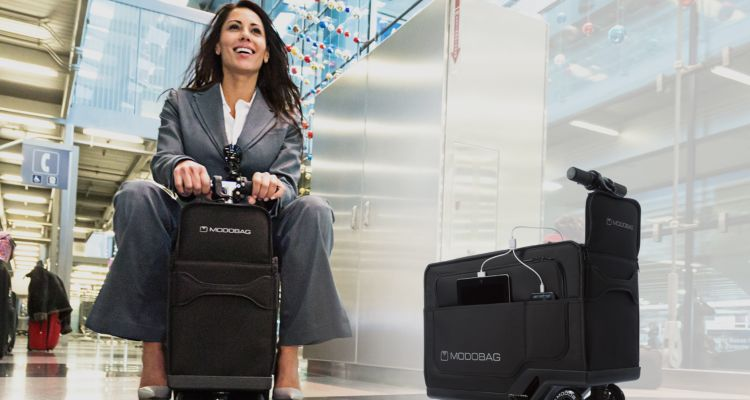 Rideable Vehicle Suitcases