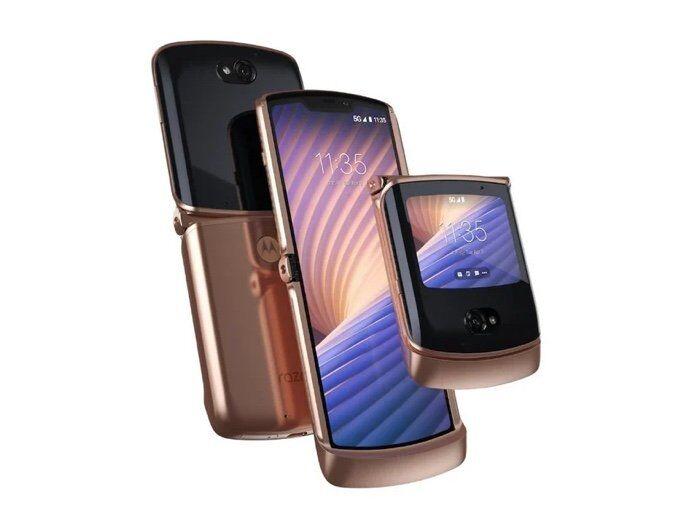 Nostalgic 5G Smartphone Designs