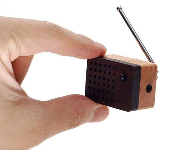 Wee Wooden Radios