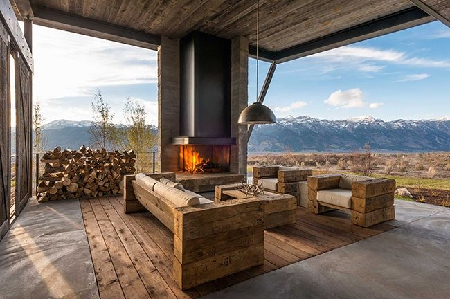 Contemporary Mountain Cabins