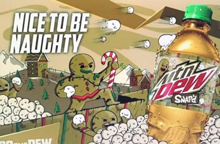Gingerbread-Spiced Holiday Sodas