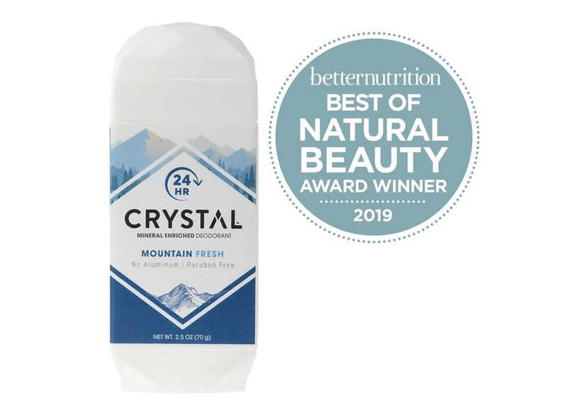 Mineral-Packed Natural Deodorants