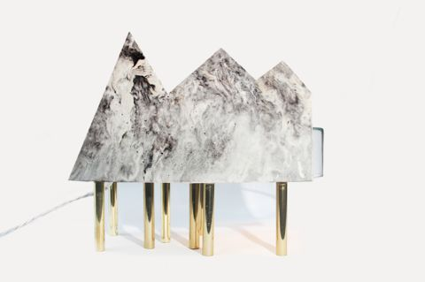 Luxurious Topographical Lamps